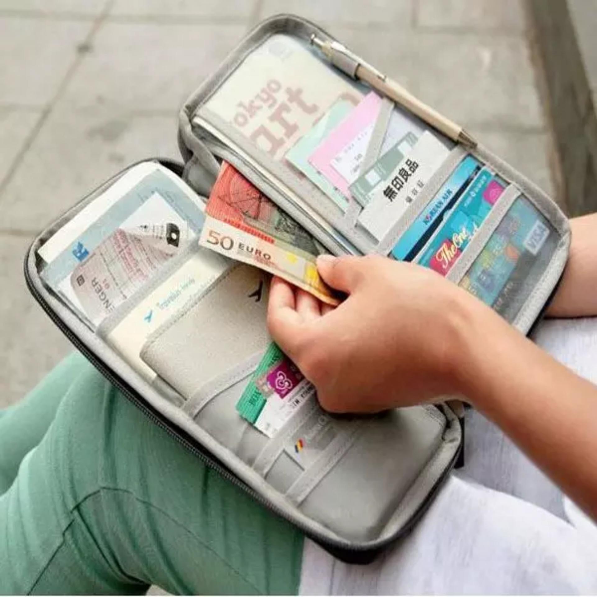 card id holder pasport wallet