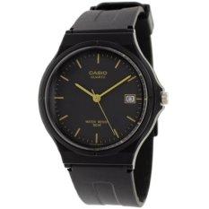 Casio Analog Watch MW-59-1EVDF Jam Tangan Unisex - Hitam - Rubber