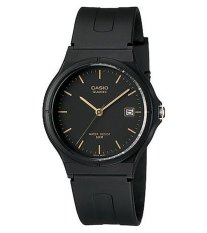 Casio Classic MW-59-1E - Jam Tangan Pria - Black - Resin Band