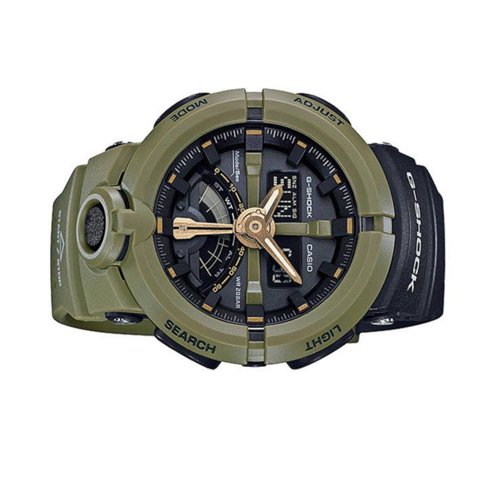 Casio G-Shock GA-500P-3 1/100-Second Stopwatch Watch