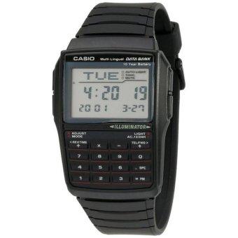 harga Casio Jam Tangan Dbc32-1a Kalkulator Databank Vintage Sporty - Hitam Lazada.co.id