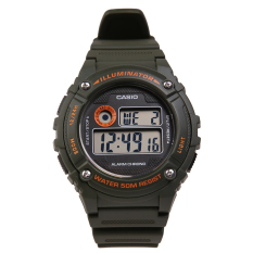Casio W-216H-3BVDF Youth Series Jam Tangan - Green