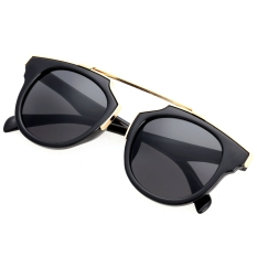 Cat Eye Retro Sunglasses - Kacamata Wanita - Hitam - CHF 008 BLK