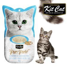 Cat Liquid - Kit Cat Pur Puree Chicken & Smoked Fish