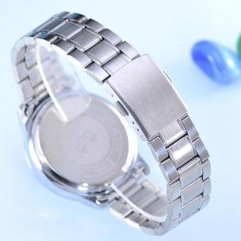 Harga Cenozo Jam Tangan Wanita Body Silver Black Rose Dial Silver Stainless Steel Band CNZ RT