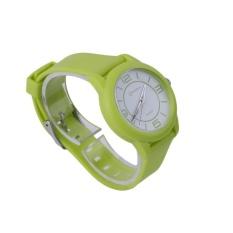 CHEER MINGRUI Kreatif Luxury Wrist Watch Karet Strap QuartzWristWatch 8820 Green (Tidak Ditentukan) (LUAR NEGERI)-Intl