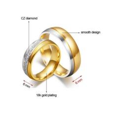 cincin couple original titanium 0102