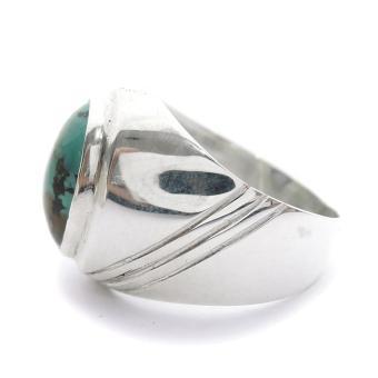 Harga Cincin Perak Batu Turquoise Cincin Batu Pirus Cincin Serat Emas Terbaru klik gambar.
