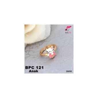 Cincin Xuping Emas Anak Hello Kitty Lapis Emas 18K PC 121