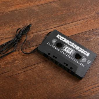 Comebuy88 adaptor mobil audio kaset dek 3.5 mm untuk iPhone iPodMP3 CD pemain .