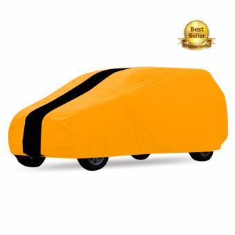 Cover Mobil Khusus Avansa Xenia Orange Strip Hitam