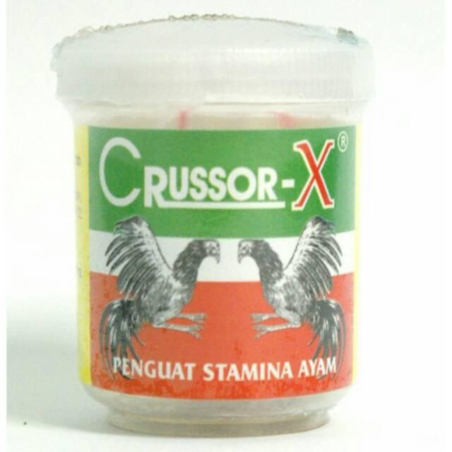Crussor-X 8 Caps - Dopping Untuk Ayam Aduan