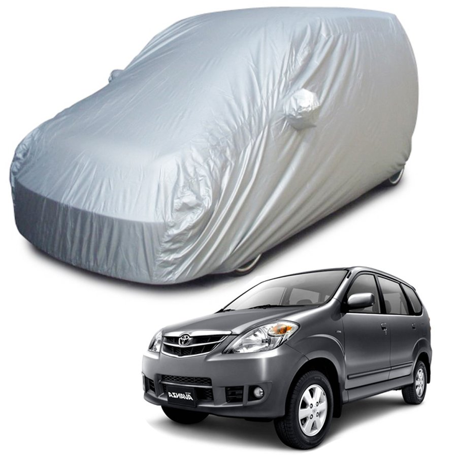 Custom Sarung Mobil Body Cover Penutup Mobil Avanza Fit On Car
