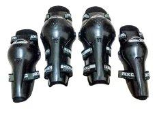 Dekker AXO Lutut Touring Dan Trail Racing Original - Hitam