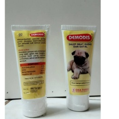 Demodis Dog Salep - Obat Jamur / Gudig / Gatal pada Anjing