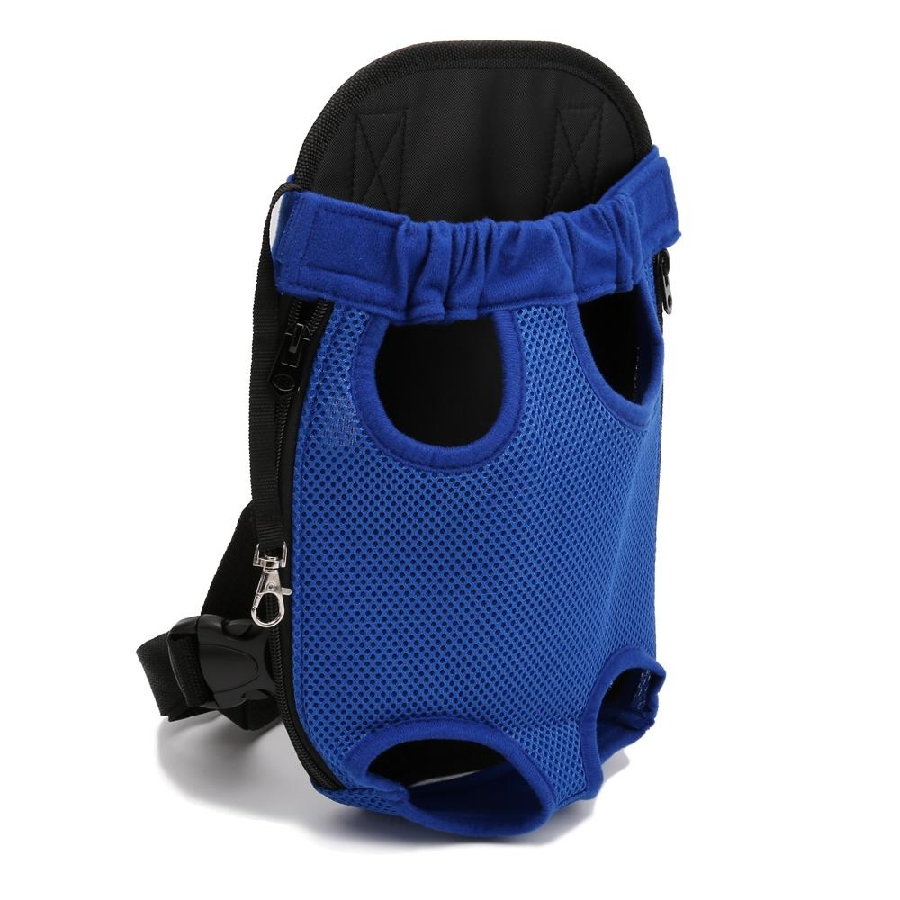 Dog Cat Pet Puppy Dog Carrier Backpack Pet Dogs Cat Legs Out Front Carrier Bag(S) - intl