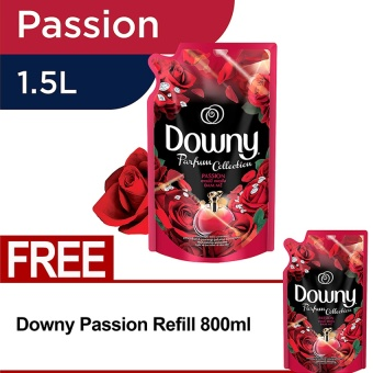 Harga Downy Passion Refill 1.5L FREE Downy Passion Refill 800ml