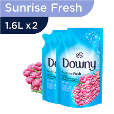 Downy Sunrise Fresh Refill 1.6L - PACK OF 2