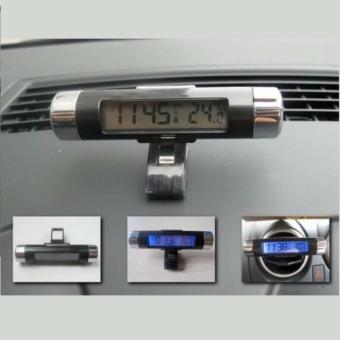 ... Eigia Thermometer Digital Backlight Car Termometer Mobil s2007 - Hitam - 4 ...