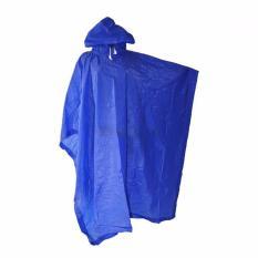 Elephant Jas Hujan Ponco - Poncho Dewasa - biru