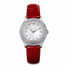ELLE - EL20389S01N - Ladies with Swarovski Crystals & White MOP Dial