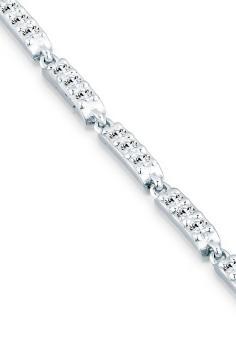 Harga Elli Germany 925 Sterling Silver Gelang Basic Swarovski(R) Crystals Silver Terbaru klik gambar.