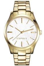 Esprit Jam Tangan Wanita - Putih Gold - Stainless Steel - ES108132005