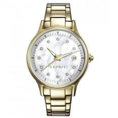 Esprit Jane Jam Tangan Wanita ES108622002 - Stainless Steel - Gold