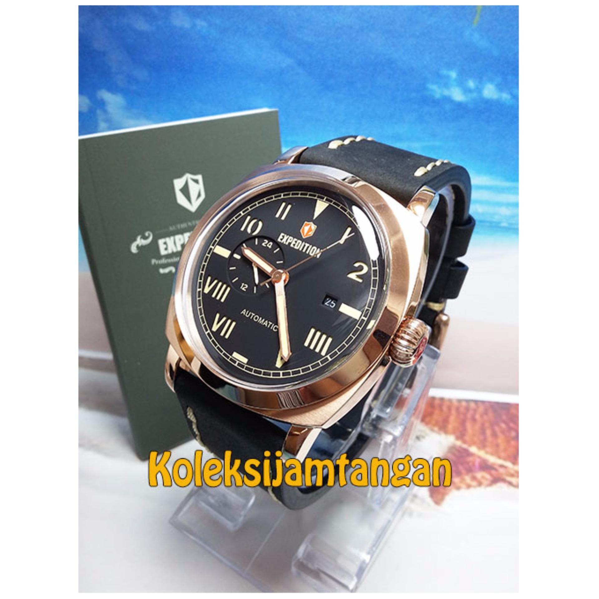 Expedition 6699 Rose Gold Original Jam Tangan Pria Daftar Harga E6665 Black Update Source 6713