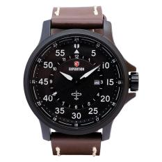 Expedition E 6680 MDLIPBA Jam Tangan Pria - Leather/Kulit