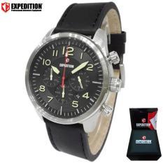 EXPEDITION Exp 6670 - Jam Tangan Pria - Jam Tangan Analog - Hitam EXP 1002-02