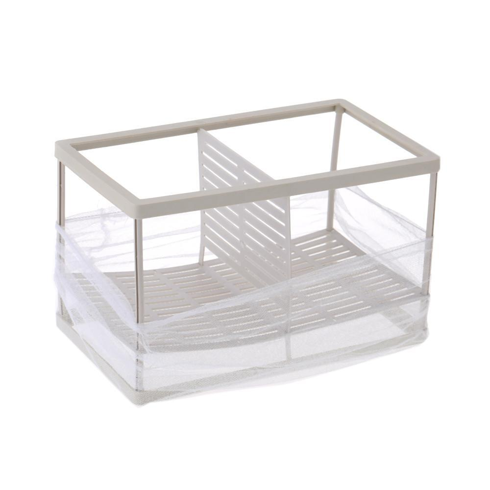 Fish Breeding Incubator Net Hanging Fry Baby Fish HatcheryIsolation Box Fish Tank Aquarium Accessory (Size XL) - intl