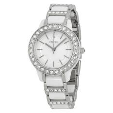 Fossil CE1017 Jam Tangan Wanita Stainless steel Bracelet - Silver