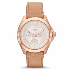 Fossil Cecile Multifunction Sand Leather Watch, AM 4532