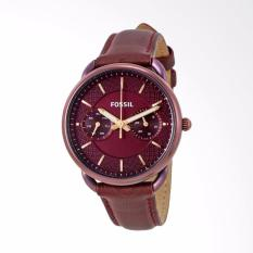 Fossil ES4121 - Jam Tangan Wanita - Brown - Strap Leather