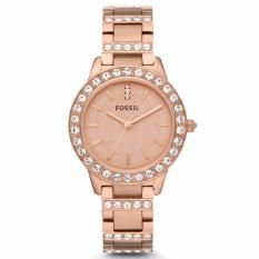 Fossil Jesse Rose-Tone Stainless Steel Watch, ES 3020
