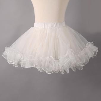 Gambar Gadis gaun pengantin tutu kecil