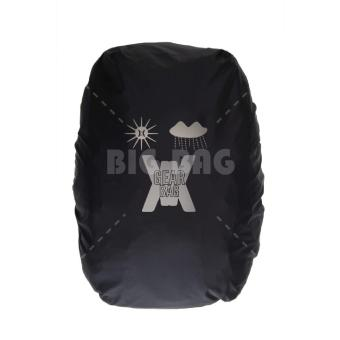 Gear Bag - Rebellion K2-SO Tas Laptop Backpack - Black Grey .