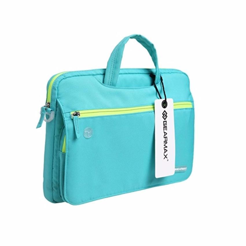 Gearmax Waterproof Laptop Bag / Tas Laptop Fit Macbook Air 11 Inch -Blue