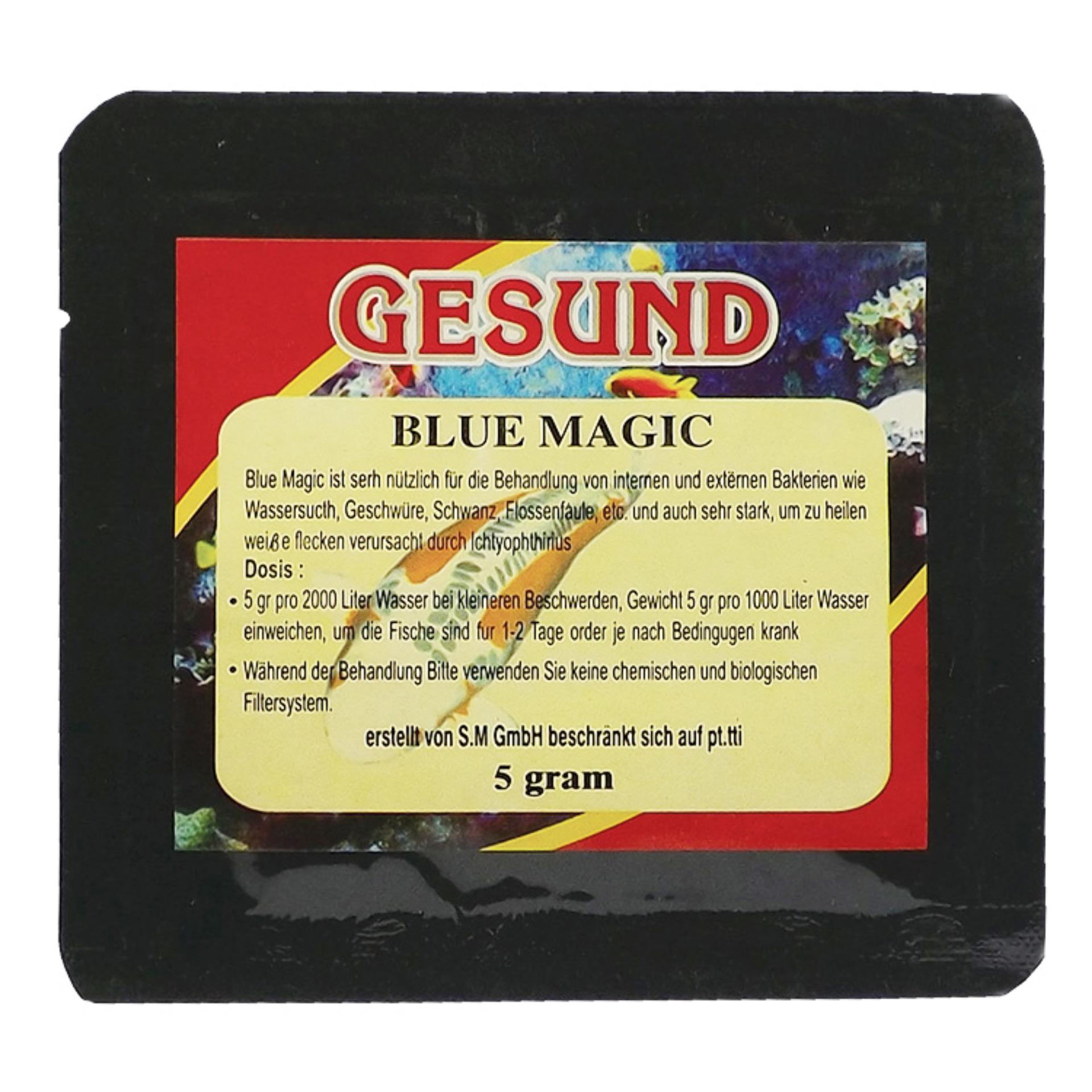 gesund blue magig