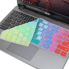 GMYLE Rainbow Silicone Keyboard Cover untuk ACER 11.6