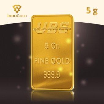 Gold Logam Mulia Emas UBS Untung Bersama Sejahtera 5 Gram