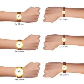 Gambar Produk Rinci Guess Collection - Jam Tangan Wanita - Rosegold-Merah - Strap Merah