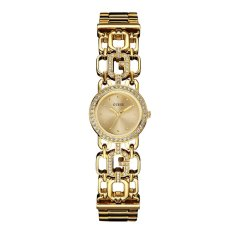 Guess - Jam Tangan Wanita - Stainless Steel - W0576L2 - Spellbound (Gold Tone)