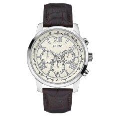 Guess W0380G2 Chronograph Jam Tangan Pria - Coklat