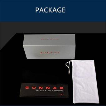 ... GUNNAR INTERCEPT Optiks Eyewear Anti-blue Light Game Goggles Anti-fatigue Radiation Glasses Suitable