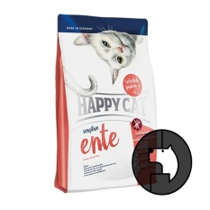 happy cat sensitive 300 gr duck with rice and potato