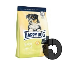 happy dog 4 kg baby lamb and rice