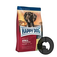 happy dog supreme sensible 12.5 kg adult africa with ostrich and potato
