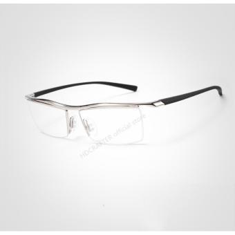 BELI SEKARANG HDCRAFTER 2017 kacamata tanpa bingkai persegi miopia bingkai  kacamata bingkai pria merek nyaman anti selip kacamata frame untuk pria  E004 Klik ... 417d5fb664